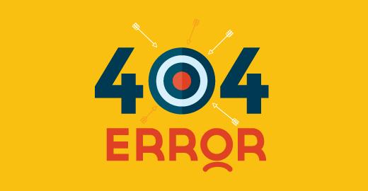 Reparar errores 404