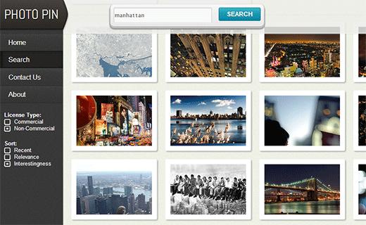 Photopin utiliza la API de flickr para ayudar a los blogueros a encontrar fotografías con licencia de creative commons