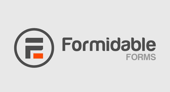 Formidable Forms Complemento de formulario de WordPress avanzado