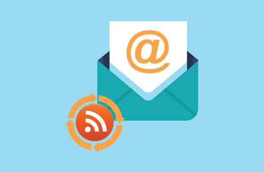 Suscripción RSS a correo electrónico