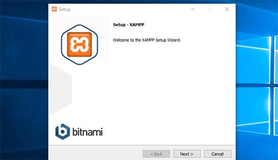 Asistente de configuración de XAMPP