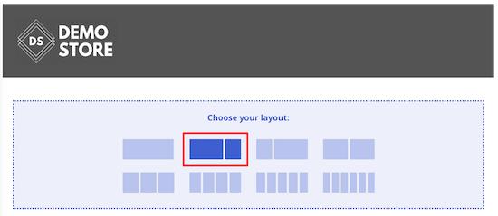 Seleccione el diseño de SeedProd