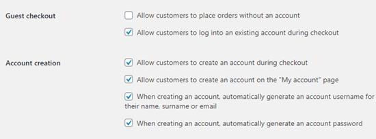 No permitir la opción de pagar como invitado en WooCommerce