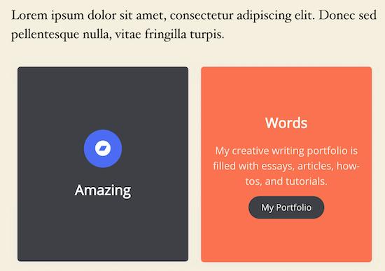 Pantalla de WordPress en vivo de Flipbox