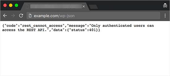 API JSON REST