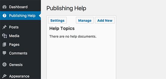 Ayuda de publicación
